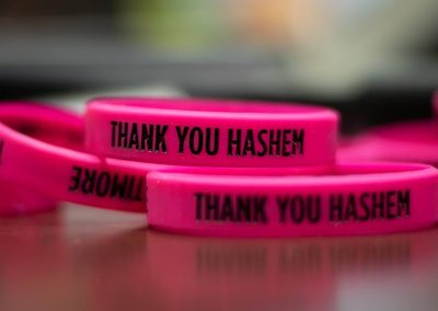 TY Hashem wrist bands